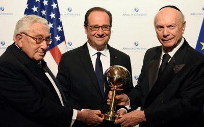 François Hollande, Ballon d'Or Atlantiste 2016