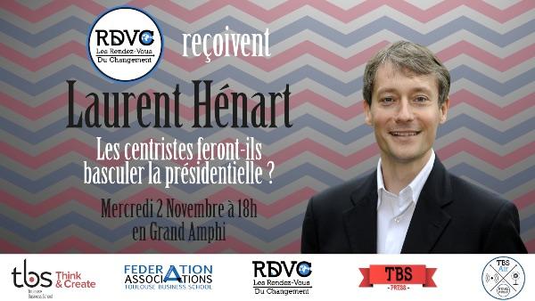 Laurent Hénart : Les centristes feront-ils basculer la présidentielle ?
