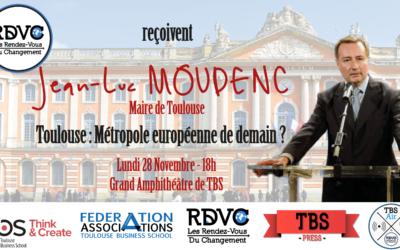 Jean-Luc Moudenc : Toulouse, métropole européenne de demain ?