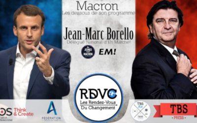 Jean-Marc Borello : conseiller spécial de Macron