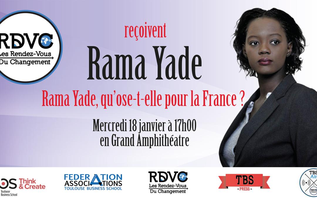 Rama Yade : qu'ose t-elle pour la France ?