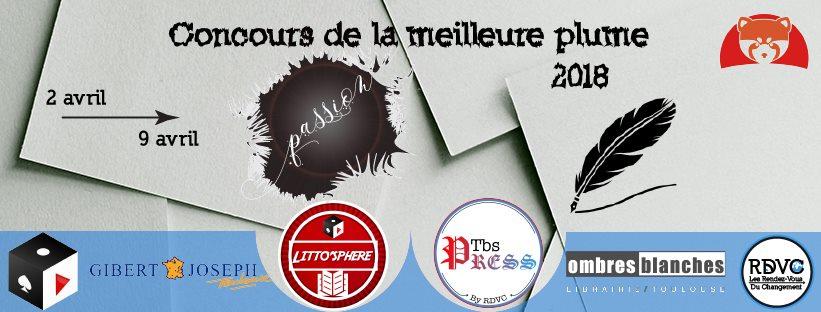 Concours de la meilleure plume 2018 – Soyez jury !