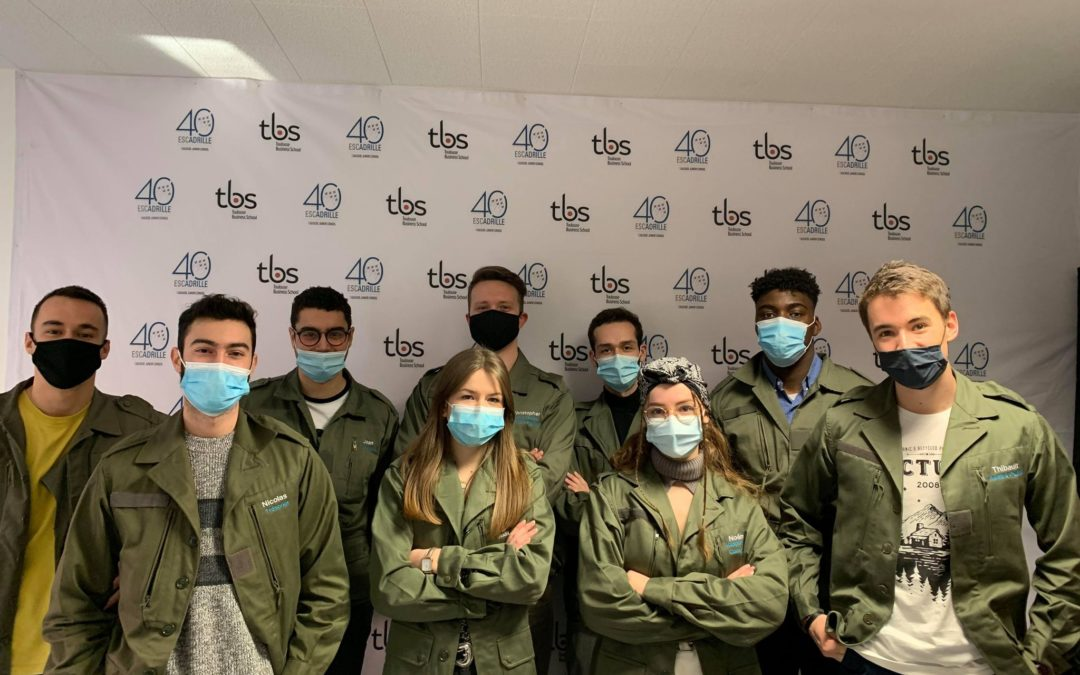 Escadrille remporte la 1ère place de la J.E la plus engagée en termes de RSE d'Europe