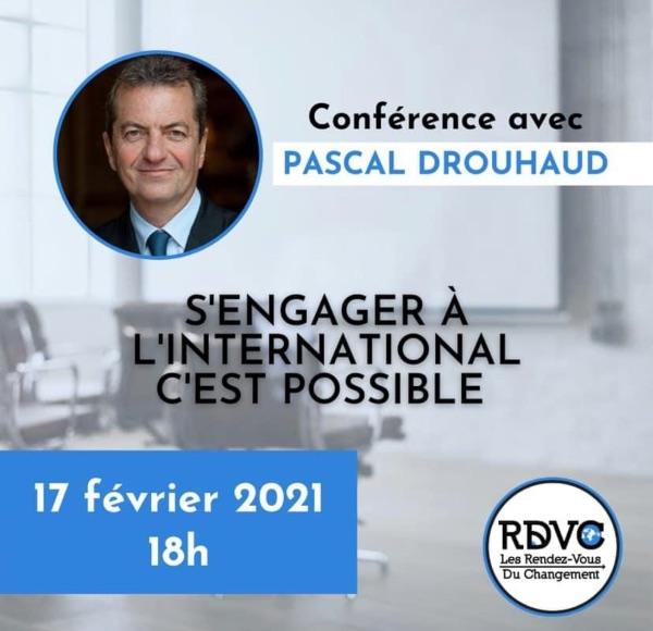 Conférence avec Pascal Drouhaud